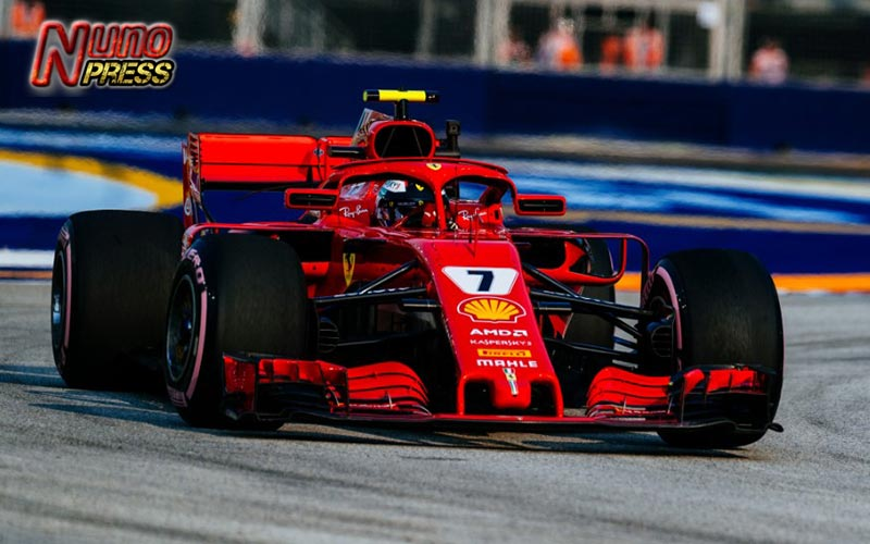 Update Formula One (F1) : Kimi Raikkonen Gagal Pole Position